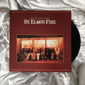 ST. ELMO's FIRE SOUNDTRACK LP VINYL